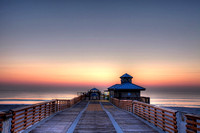 Juno Beach Pier Sunrise 002