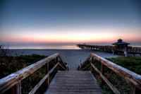 Juno Beach Pier Sunrise 001