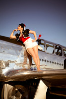 WWII Pin Up Girl 012