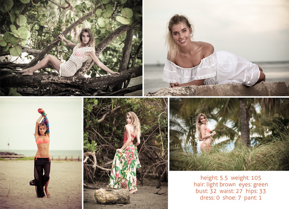 Comp Card 6 Back